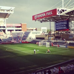 Photo taken at Toyota Park by Lance C. on 9/2/2012