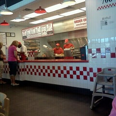 Photo taken at Five Guys by Kacie R. on 6/15/2012