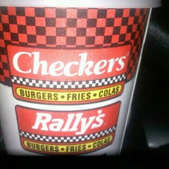 Photo taken at Checkers by Courtney C. on 4/15/2012