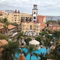 Photo taken at Gran Hotel Bahía del Duque Resort by Wayne C. on 4/20/2012