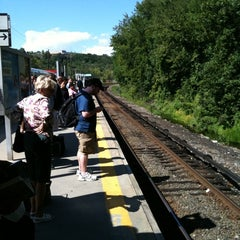 Photo taken at Metro North - Southeast Train Station by Chirag P. on 8/22/2011