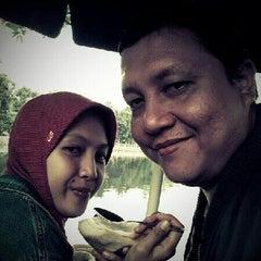 Photo taken at Kampung betawi situ babakan by Nopitasari on 4/29/2012