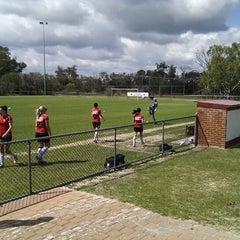 Photo taken at Armadale Soccer Club (Alfred Skeet) by Ian D. on 9/25/2011