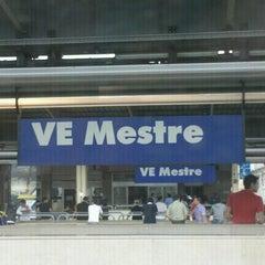 Photo taken at Stazione Venezia Mestre by Marta S. on 7/23/2012