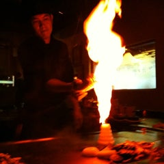Photo taken at Musashi's Japanese Steakhouse by Dawa T. on 7/27/2011