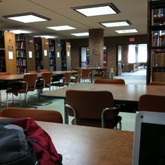 Photo taken at UWM Golda Meir Library by Miranda C. on 9/6/2011