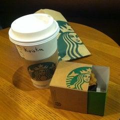 Photo taken at Starbucks by Kristina B. on 1/22/2012