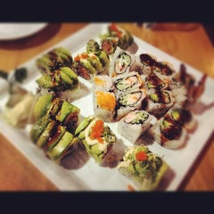 Photo taken at Symphony Sushi by Jessica H. on 6/7/2012