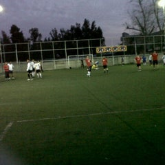 Photo taken at SuperSoccer by Carmen Gloria A. on 9/26/2011