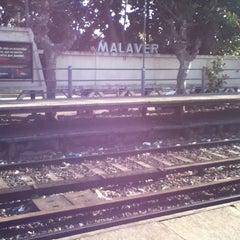 Photo taken at Estación Malaver [Línea Mitre] by Andrés L. on 7/16/2011