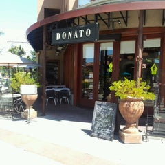 Photo taken at Donato Enoteca Restaurant by Fabrizio C. on 8/20/2012