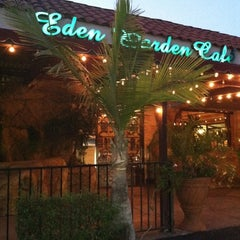 Photo taken at Eden Garden Cafe by Jennie G. on 5/19/2012