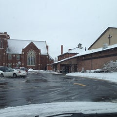 Photo taken at Friedens Lutheran by Brad S. on 1/13/2012