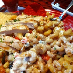 Photo taken at Red Robin Gourmet Burgers by Amber K. on 11/3/2011