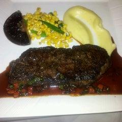 Photo taken at Senses Restaurant by Francis L. on 9/30/2011