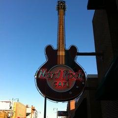 Photo taken at Hard Rock Cafe Memphis by Linda V. on 10/21/2011