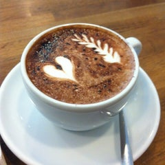 Photo taken at Boréal Coffee Shop by Yannis J. on 4/14/2012