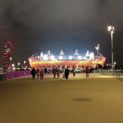 Photo taken at London 2012 Olympic Park by Anderson M. on 9/2/2012