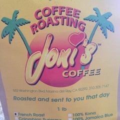 Photo taken at Joni's Coffee Roaster Cafe by Layne K. on 2/18/2012