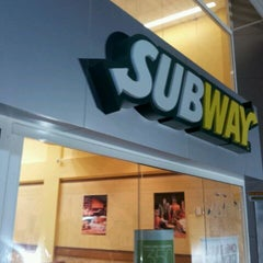 Photo taken at Subway by Felipe R. on 9/29/2011