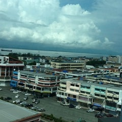 Photo taken at Bandar Tawau by Fatyn S. on 5/20/2012
