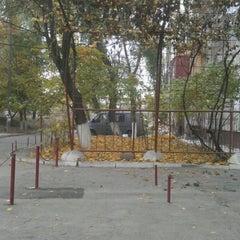 Photo taken at Strada Albișoara by Igor S. on 11/22/2011