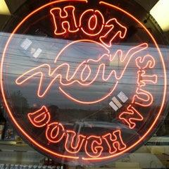 Photo taken at Krispy Kreme Doughnuts by Brian J. on 3/11/2012