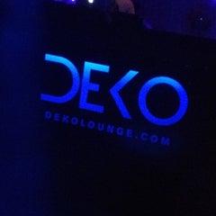 Photo taken at Deko Lounge by Chris A. on 8/30/2012