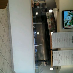 Photo taken at Hummus House Pitas and Salads by Brittany Y. on 1/27/2012