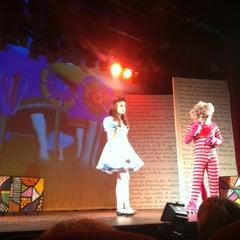 Photo taken at Teatro Vannucci by Luiz Gustavo X. on 5/26/2012