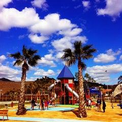 Photo taken at Parque de la Alegría by Marivi R. on 3/16/2011
