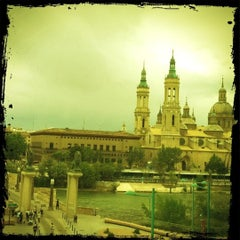 Photo taken at Hotel Ibis Zaragoza Centro by Pili R. on 5/19/2012