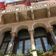 Photo taken at Ca' Sagredo Hotel Venice by Liza K. on 7/28/2012
