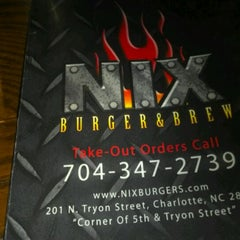 Photo taken at NIX Burger & Brew by Flybrowngirl P. on 7/7/2012