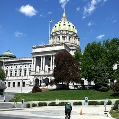 Photo taken at Pennsylvania State Capitol Building by C A. on 4/25/2012