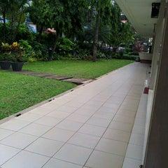 Photo taken at Gereja Katolik Santo Yohanes Penginjil by Rara P. on 6/10/2012