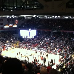 Photo taken at Fifth Third Arena by Seulhui L. on 2/24/2012