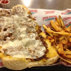 Photo taken at Penn Station East Coast Subs by Dwayne C. on 3/9/2012