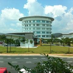 Photo taken at Akademi Kepimpinan Pengajian Tinggi (AKEPT) by Katie N. on 3/6/2012