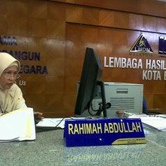 Photo taken at Lembaga Hasil Dalam Negeri (LHDN) by Anaz R. on 7/3/2012