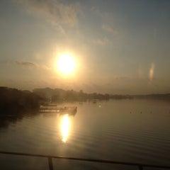 Photo taken at Khatib MRT Station (NS14) by Garrett on 8/13/2012