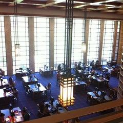 Photo taken at Biblioteca by Pablo C. on 3/28/2012