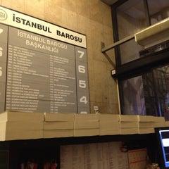 Photo taken at İstanbul Barosu by Guney B. on 5/10/2012