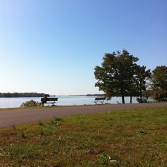 Photo taken at Neshaminy State Park by Fran D. on 10/9/2011
