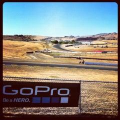 Photo taken at Sonoma Raceway by Andrew S. on 8/25/2012