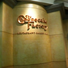 Photo taken at The Cheesecake Factory by Cherry C. on 3/10/2012