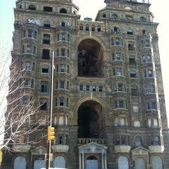 Photo taken at Divine Lorraine Hotel by CivilDefense on 11/18/2011