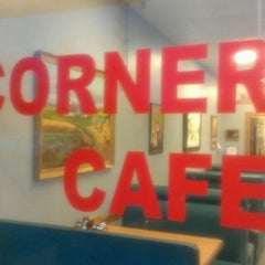 Photo taken at The Corner Cafe by Marcella M. on 12/30/2011