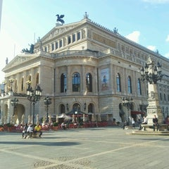 Photo taken at Alte Oper by Tobias Z. on 8/7/2012
