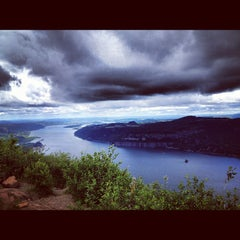 Photo taken at Angels Rest by Kira D. on 6/17/2012